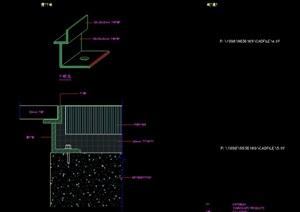 现代种植池设计cad方案图