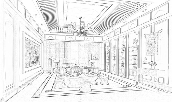 会所茶室(3)