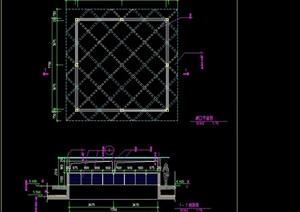 园林景观井口设计cad施工图