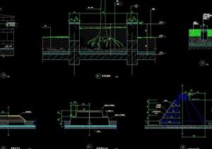 屋顶种植花池设计cad施工图