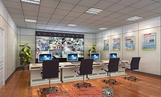 机房/机柜效果图制作,指挥室效果图,杭州效果图公司