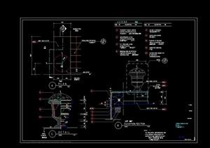 详细完整的花钵素材设计cad施工图