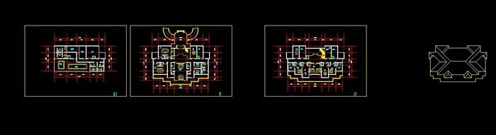 现代新中式高端典雅度假旅游精品酒店民宿群(su模型+cad+超清效果图)(12)