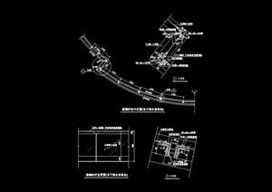 护栏杆设计cad施工图
