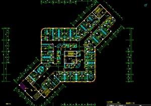 南京同仁医院大型医院施工图设计