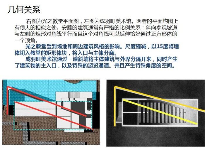 安藤忠雄大師經典作品成羽町美術館案例分析su+cad+文本(2)