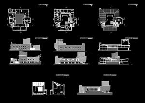 阿尔瓦阿尔托大师经典作品珊纳特赛罗市政厅案例分析SU(草图大师) CAD