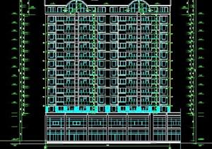 现代高层商住楼建筑施工图