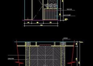 幾十余張室內裝修設計方案節點圖