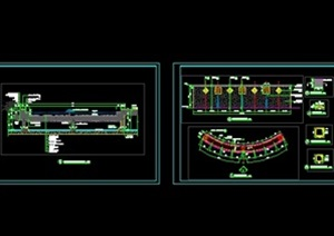 景观水景施工图设计CAD