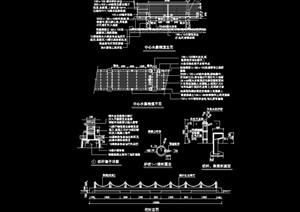 详细经典的栏杆素材设计cad施工图