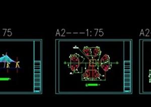 张拉膜CAD施工图设计
