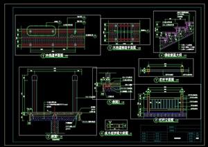 园林木栈道CAD施工图设计