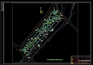 """某""""滨水河道""""详细景观CAD施工图设计"""