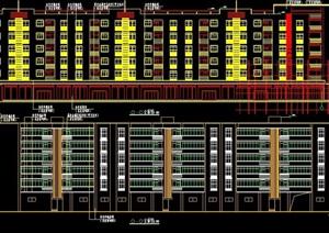 某住宅小区6层住宅楼建筑住宅施工图