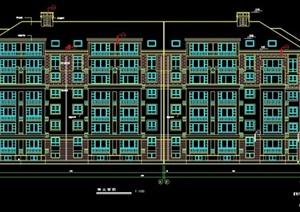 七层住宅楼建筑设计施工图纸