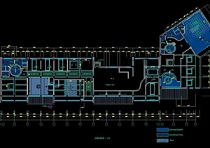 经典中式餐厅室内装修设计施工图