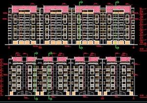 现代7层居住建筑设计施工图纸