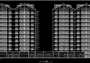 高层住宅楼全套建筑施工图