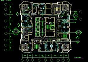 娱乐KTV会所室内装修设计施工图纸