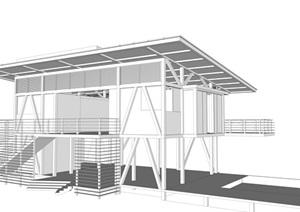 iseami住宅建筑模型