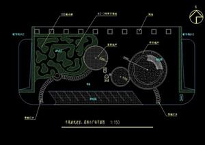 某广场设计cad方案图