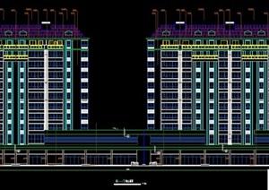 高层商业住宅楼建筑施工图纸