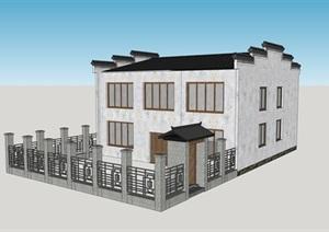 新农村乡土建筑--乡村振兴发展