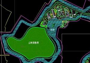 完整的农场景观设计cad方案