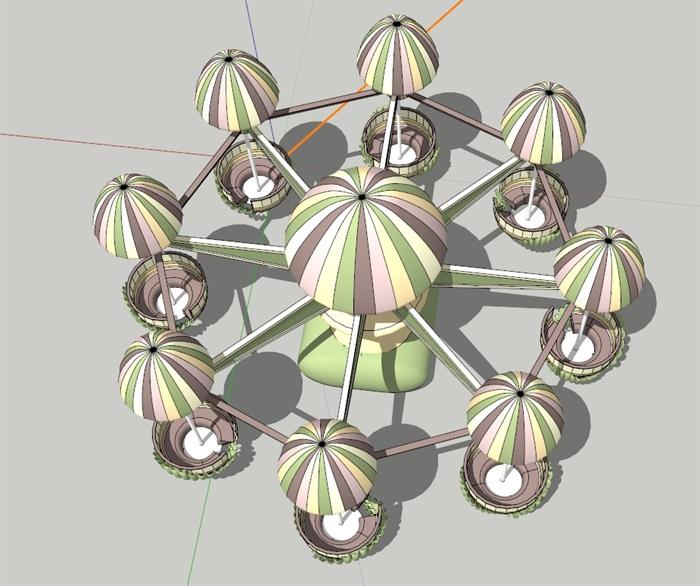 水母(SU草图大师)模型(1)