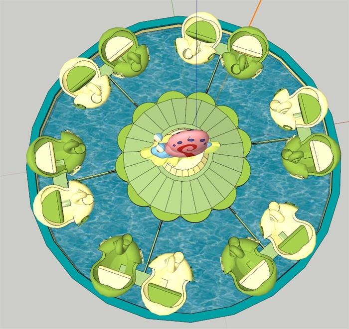 蜗牛特工队(SU草图大师)模型(1)