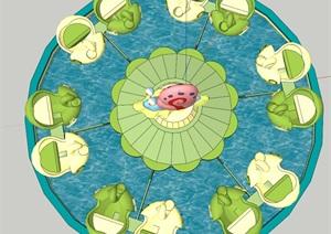 蜗牛特工队(SU草图大师)模型