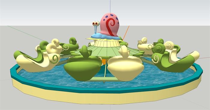 蜗牛特工队(SU草图大师)模型(2)