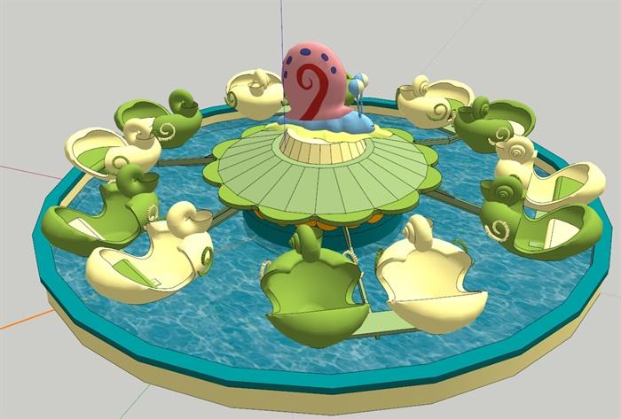 蜗牛特工队(SU草图大师)模型(3)