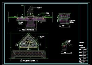 景观(景石)详细CAD施工图