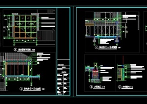 景观(阳光房)详细CAD施工图