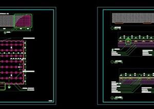 """景观""""木平台""""详细CAD施工图"""