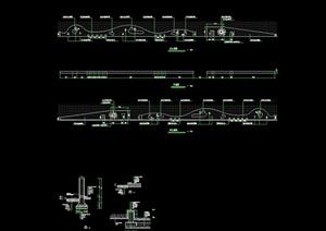 挡墙详细完整设计cad施工图