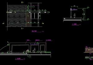 挡墙完整详细的设计cad施工图