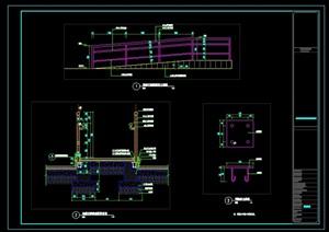 """无障碍通道""详细CAD施工图"