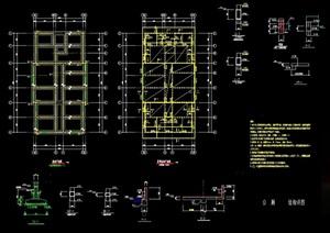 现代厕所详细设计cad施工图