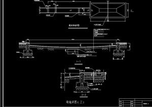 运动场地cad结构详图