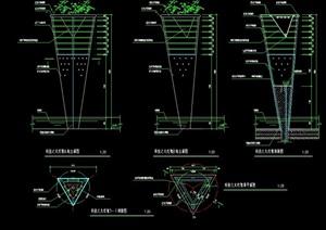 园林景观详细的灯具cad施工图