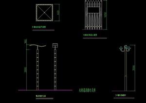 木质详细的榔教学设计cad施工图