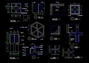 详细完整的路灯设计cad施工图