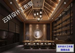 会客室茶座设计全套3D源文件