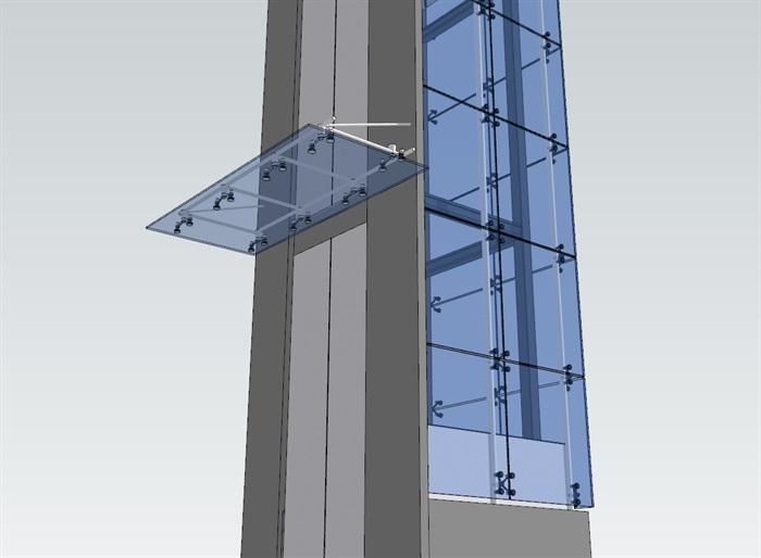 点抓玻璃观光电梯(2)