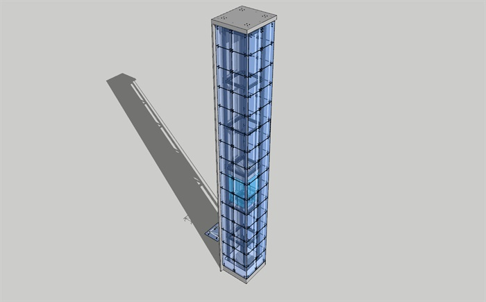点抓玻璃观光电梯(1)