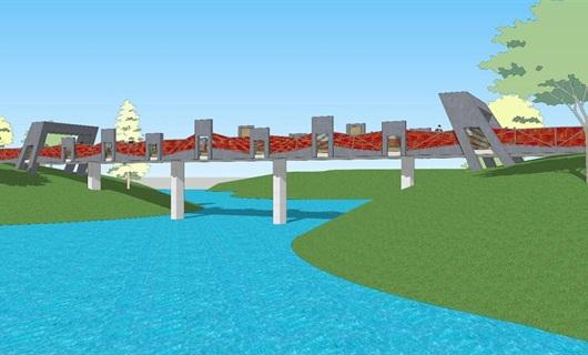 景观桥项目二