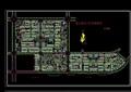 居住小区详图细规划cad方案